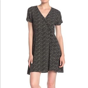NWT Madewell button wrap floral dress